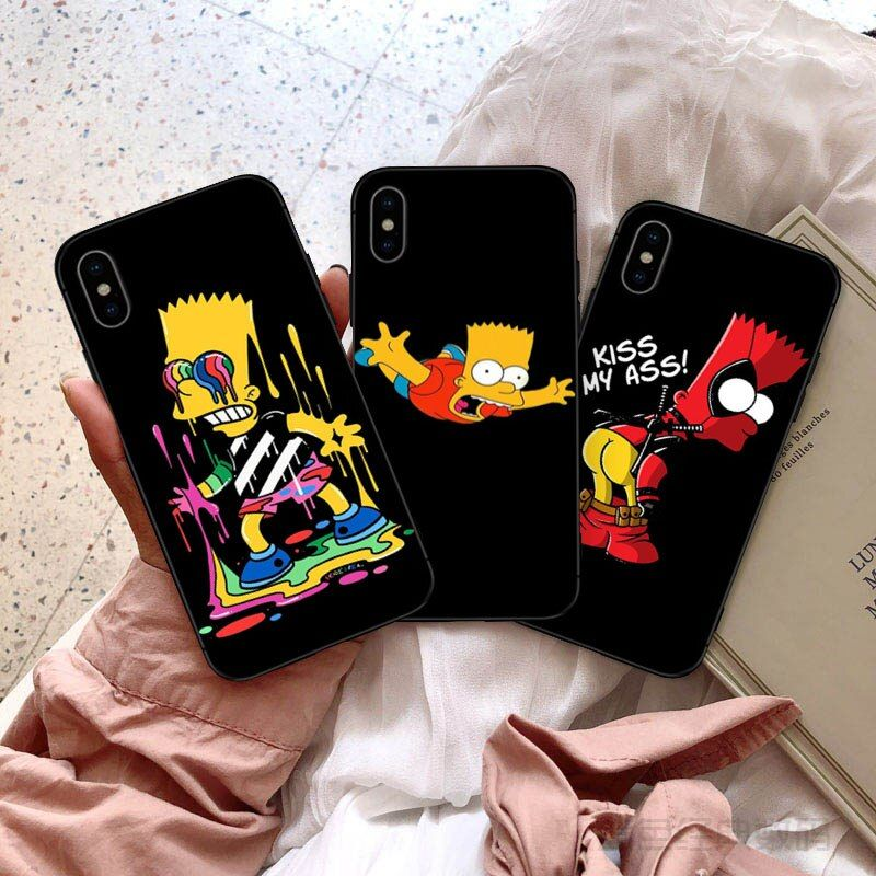 Best chance of gykz funny homer jsimpson black silicone