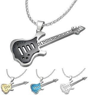 Pendentif guitare pas cher