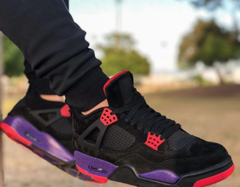 464c99380e5e An On-Feet Look At The Air Jordan 4 NRG Raptors