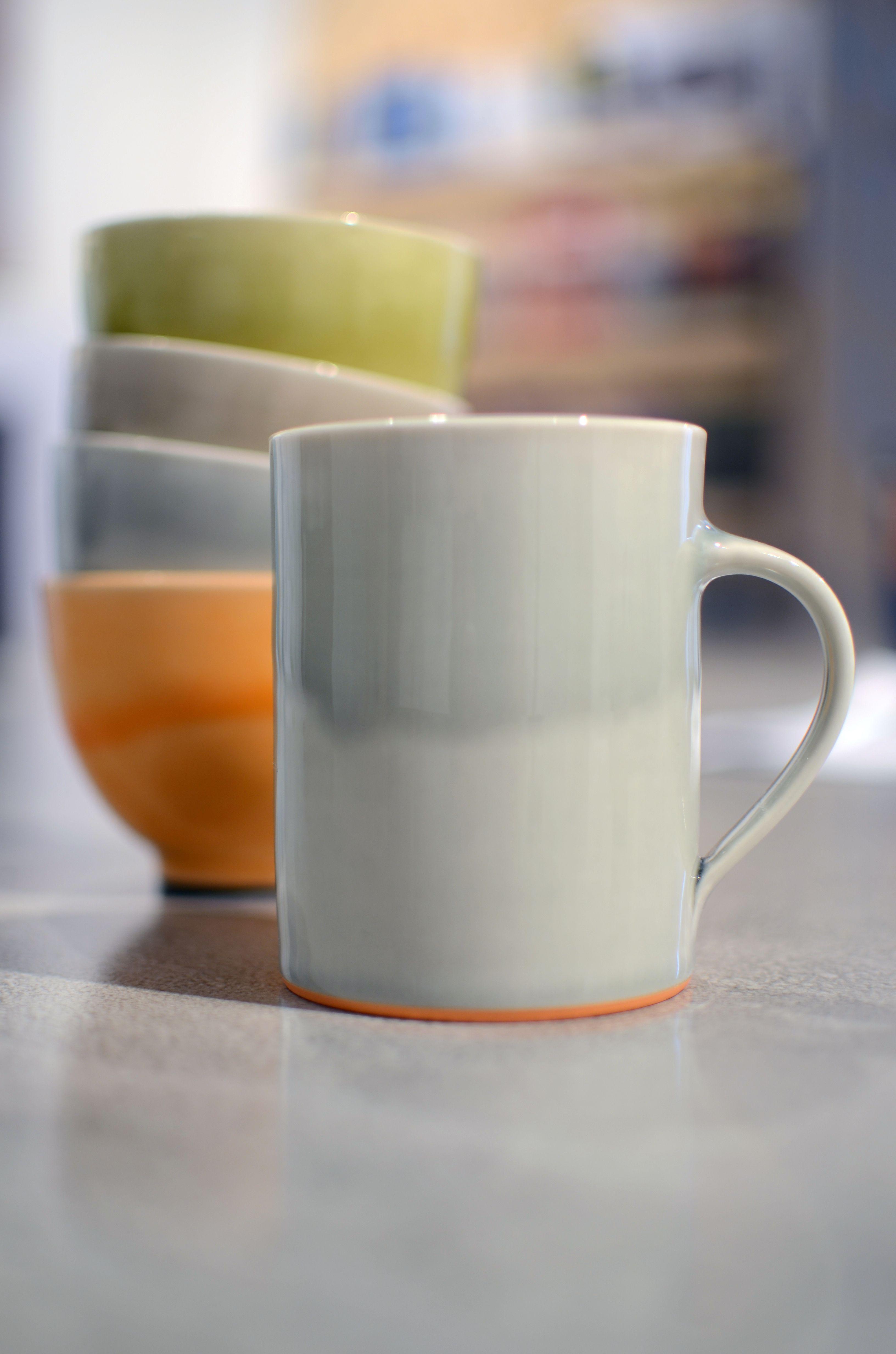 James & Tilla Waters: Mug and teabowls