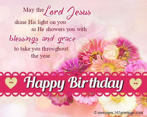Share This On WhatsApp Christian Happy Birthday Wishes Blessed Religious