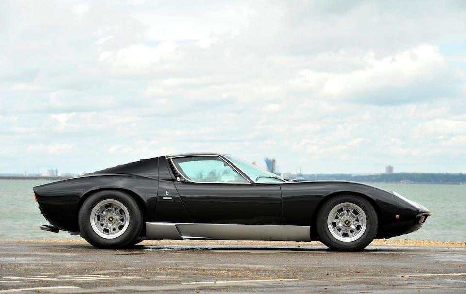 1968 Lamborghini Miura P400 Coupé  Chassis no. 3510 Engine no. 30608