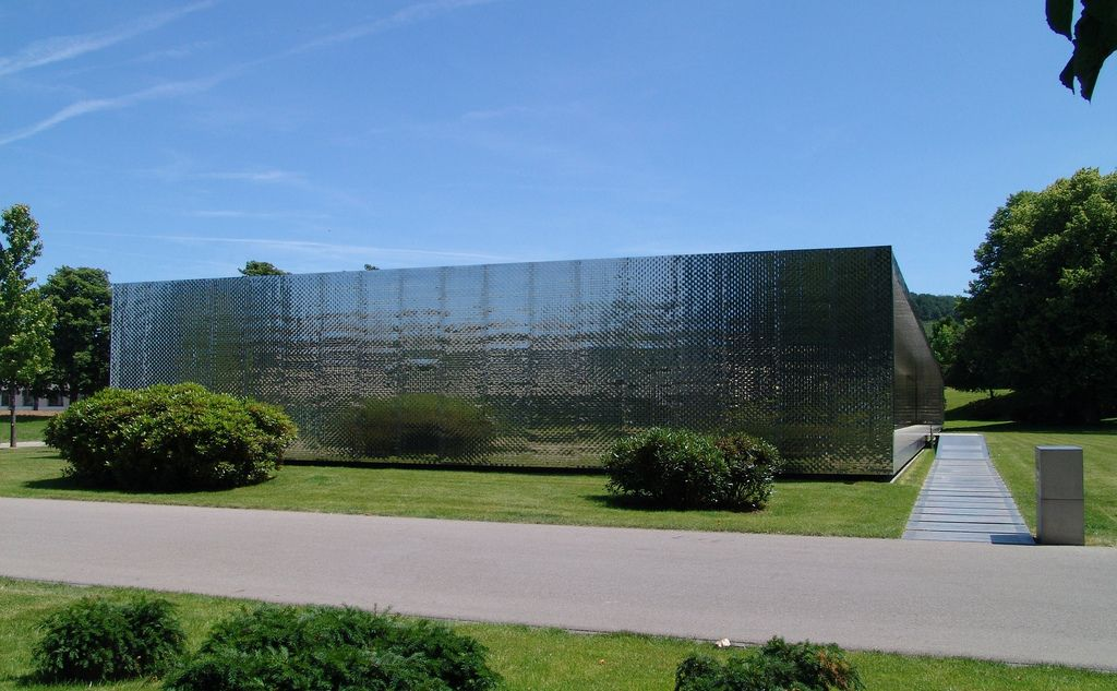 Architekt Heilbronn heilbronn office building metal cladding stainless steel 2004
