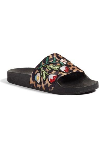4387c856970 STEVE MADDEN Patches Slide Sandal.  stevemadden  shoes  sandals ...