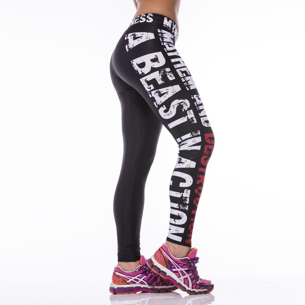 Mayhem Desutrcition High Quality Leggings Tights Workout Fitness Wear Women Sports Wear Women