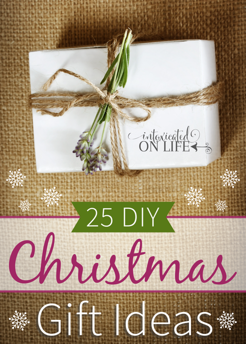 25 diy christmas gift ideas a little something for everyone
