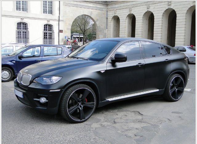 Matte Black Bmw X6 Bmw X6 Bmw X6 Black Bmw