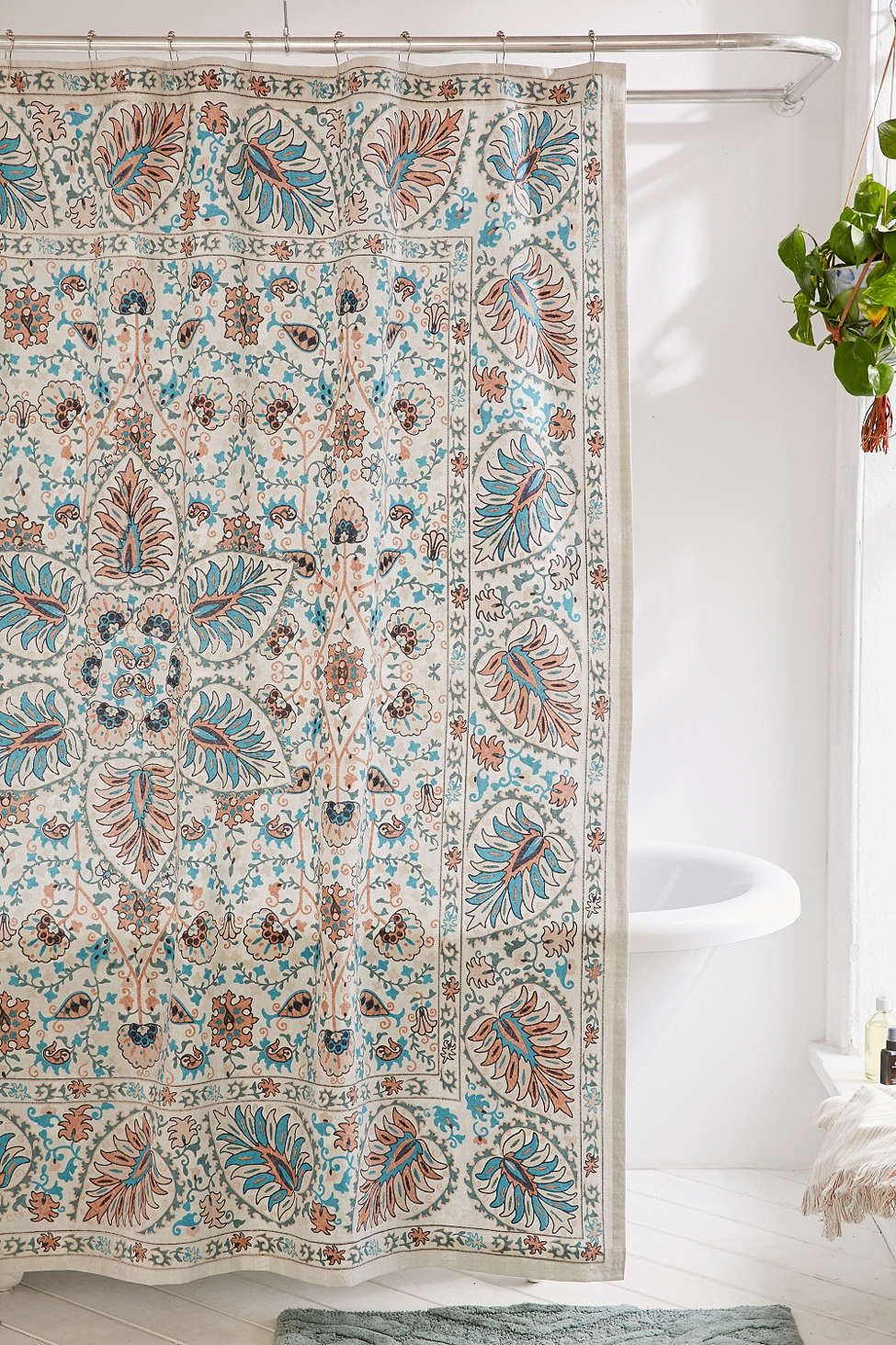 Shower Curtain Liner Pretty Shower Curtains Bohemian Style