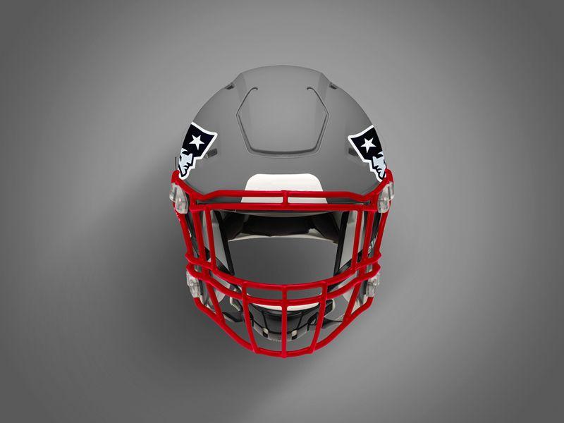 Free Football Helmet Mockup Psd Football Helmets Free Football Football