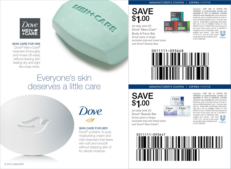 Dove® Personal Wash FSI on Behance