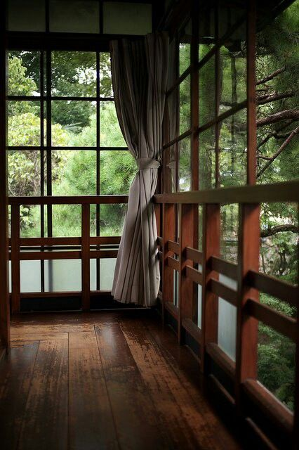 japanese home..outer walkway