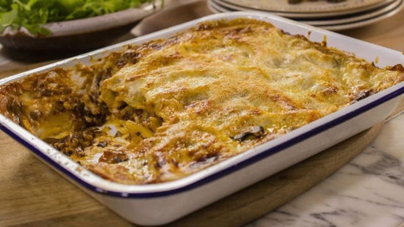 Vegetable Lasagna With Mushrooms Recipe In 2020 Lasagna Food Recipes Healthy Pastas