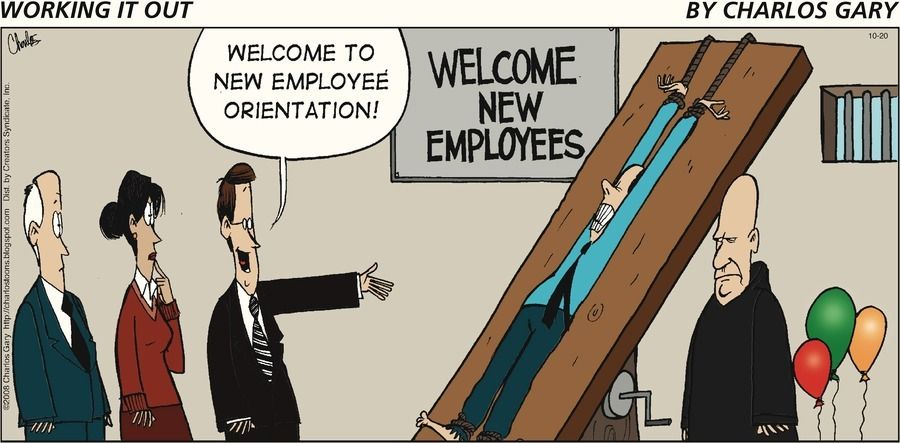 onboarding / new hire orientation
