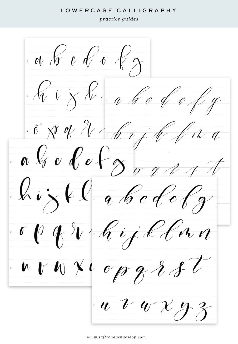 image relating to Printable Guides named Electronic and Printable Calligraphy Educate Books FoNTs