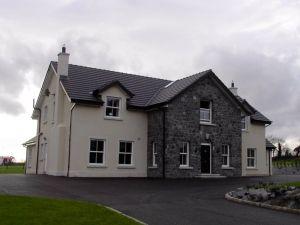 Storey And A Half Dormer Stone Porch David Duignan Architects Irish House Plans House Designs Ireland New House Plans
