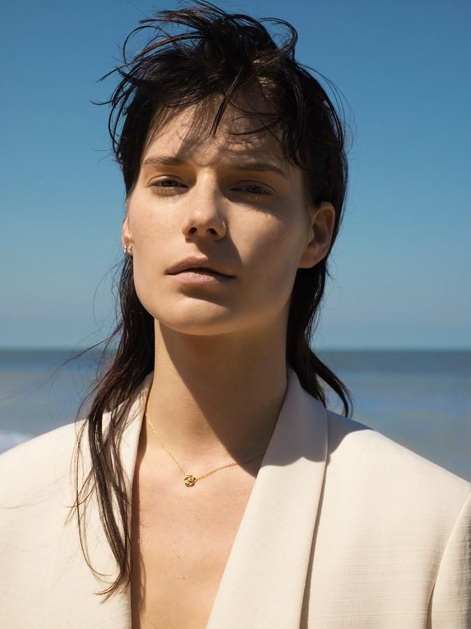Magnificent Querelle Jansen - The Waves (Harper's Bazaar China)