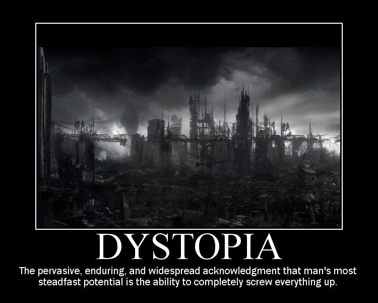 Dystopia - sources for an english term paper?