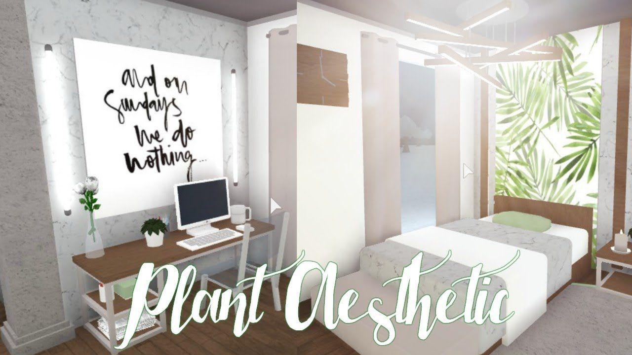 Bloxburg Plant Aesthetic Bedroom 26k Ideas To Design Your Living