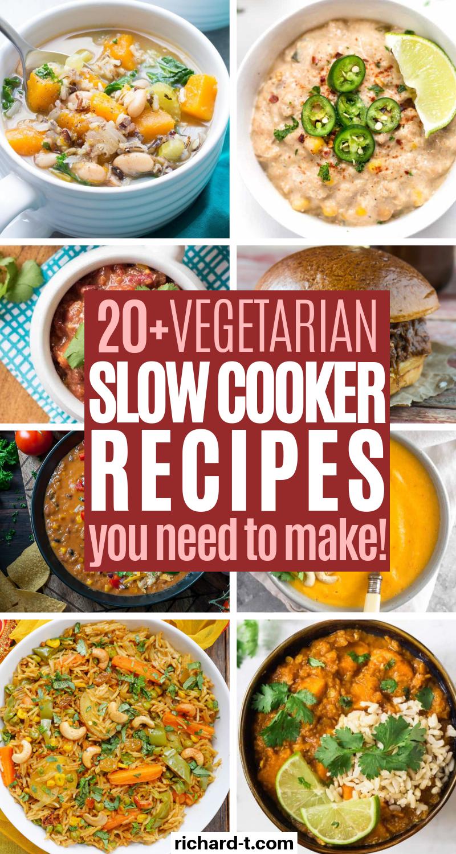 Healthy Vegetarian Crockpot Recipes Gardening Garden