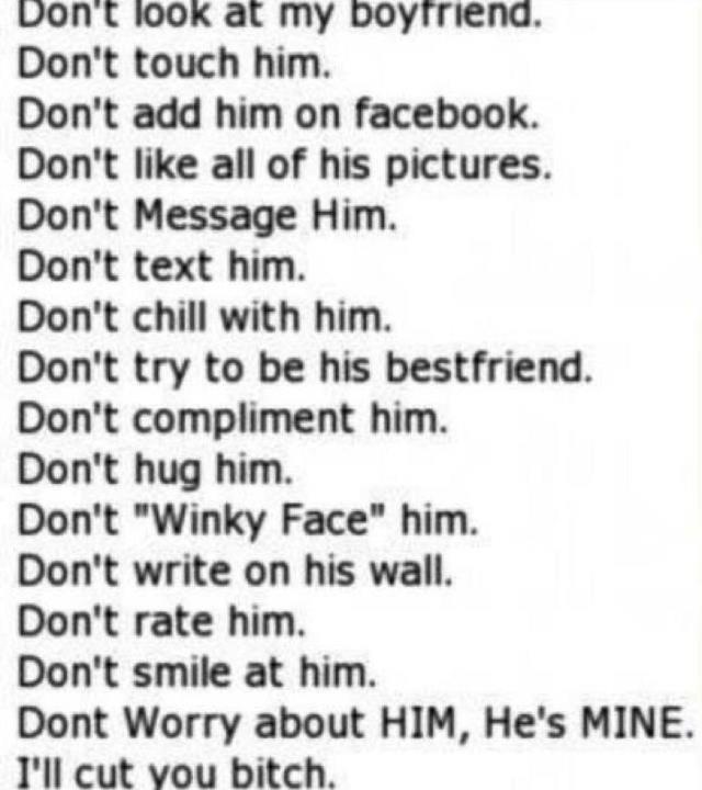 HAHA (okay this is for joking purposes) but seriously though sometimes I feel like these rules should apply haha (: