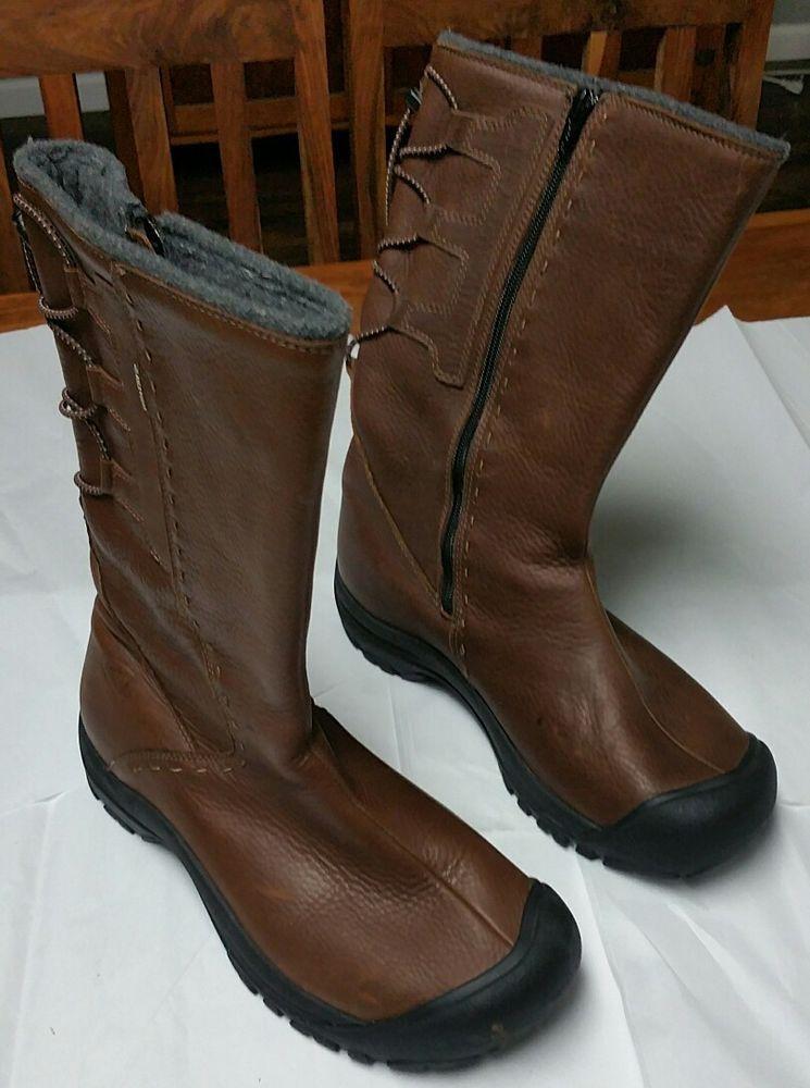 16ec37ca870 KEEN Dry 5386-PNCN Winthrop Boots Women's 10.5 Waterproof Leather Brown  Shoes #KEEN #MidCalfBoots
