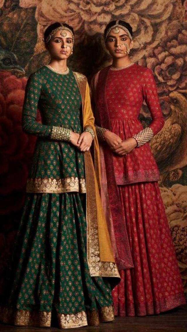 Sabyasachi Simple And Elegant C Attires Indian Fashion