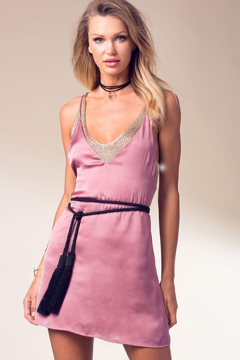 Jolie Satin Slip Dress | women\'s fashion | Pinterest