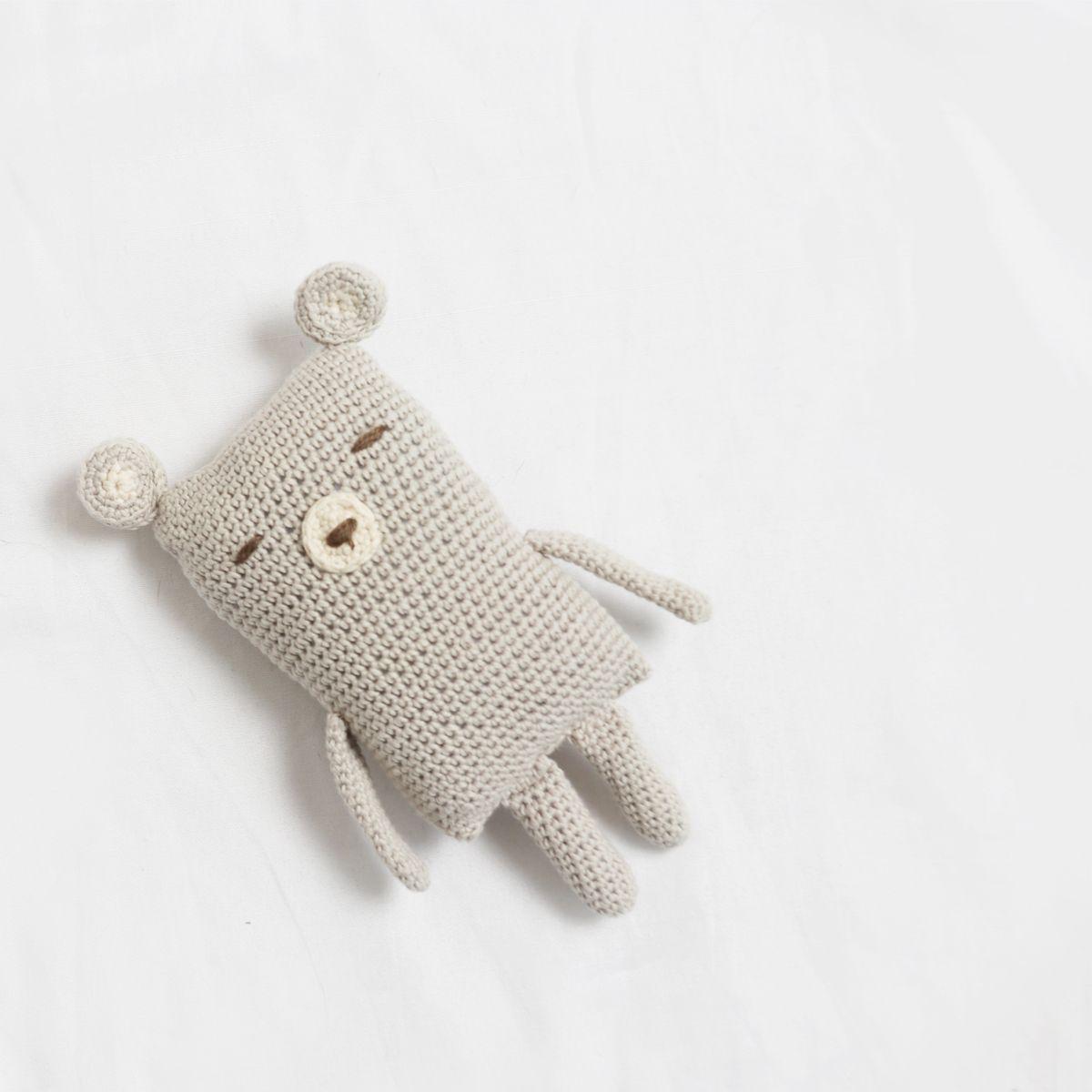 Bjorn the Free Crochet Bear by Ina Rho | Crochet Patterns | Pinterest