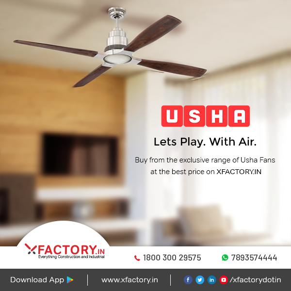 Buy Usha Fans At Best Price On Xfactory In Fan Fan Price Black