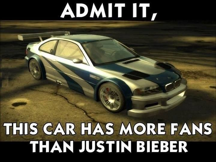 Bmw M3 Gtr Need For Speed Most Wanted With Images Smiles And