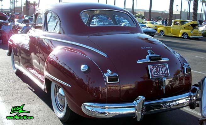 1948 Dodge 5 Window Coupe - Rearview of a 1948 Dodge 5 Window Coupe