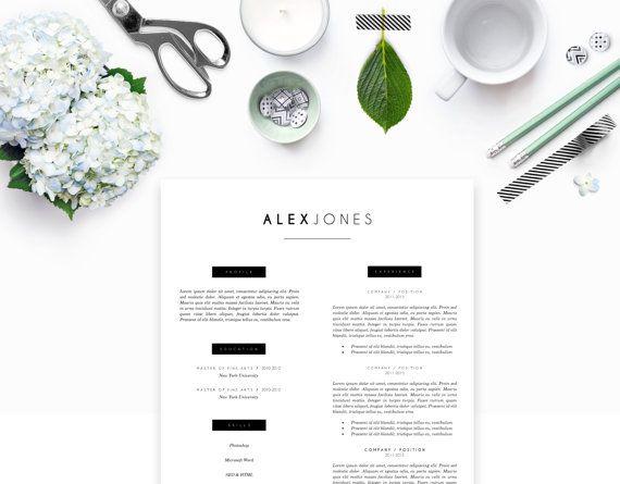 Creative Resume Template DIY Printable Resume door resumemarket