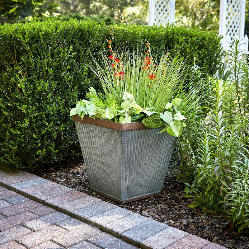 Westbury Resin Pot Planter Outdoor Planters Planters Container Gardening