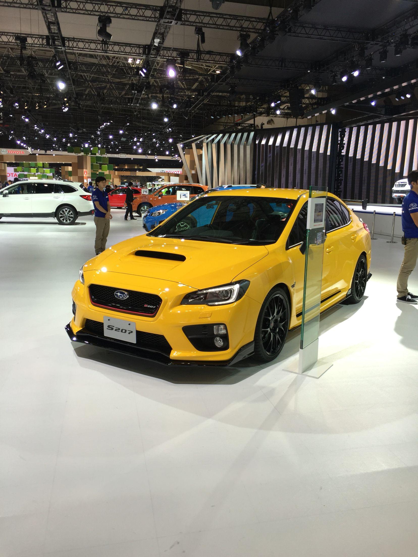 Subaru Wrx Sti S207 Subaru Subaru Levorg Tokyo Motor Show