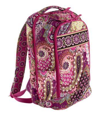 Laptop Backpack in Very Berry Paisley | Vera Bradley