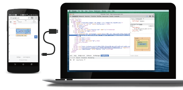 Debugging Chrome for Android using the Chrome Developer