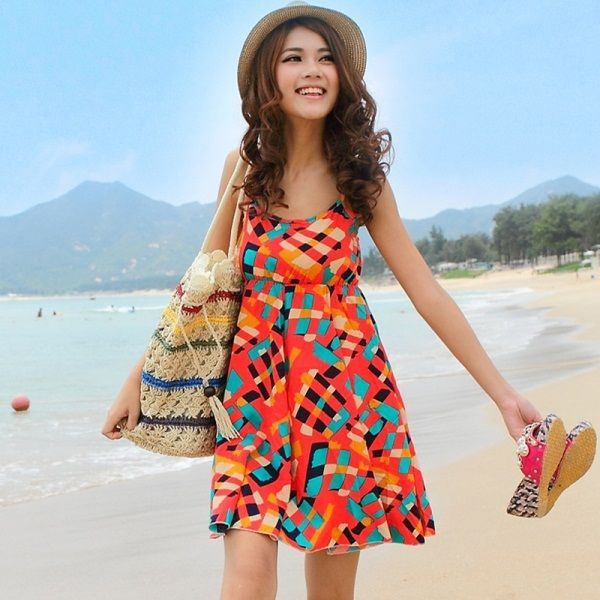 Image Result For Womens Colorful Beach Fashions