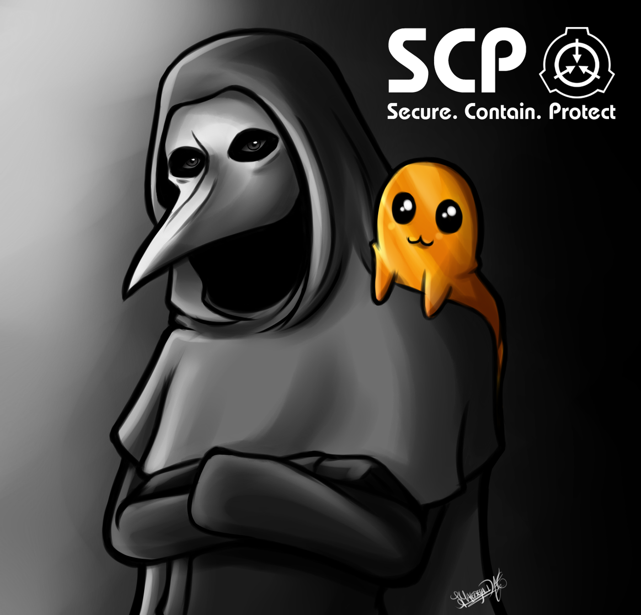 SPC-999 / SCP-049 by Malebeja deviantart com on @DeviantArt | Stuff