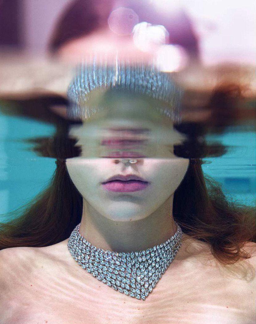 Luna Bijl photographed by Mario Sorrenti for Vogue Paris