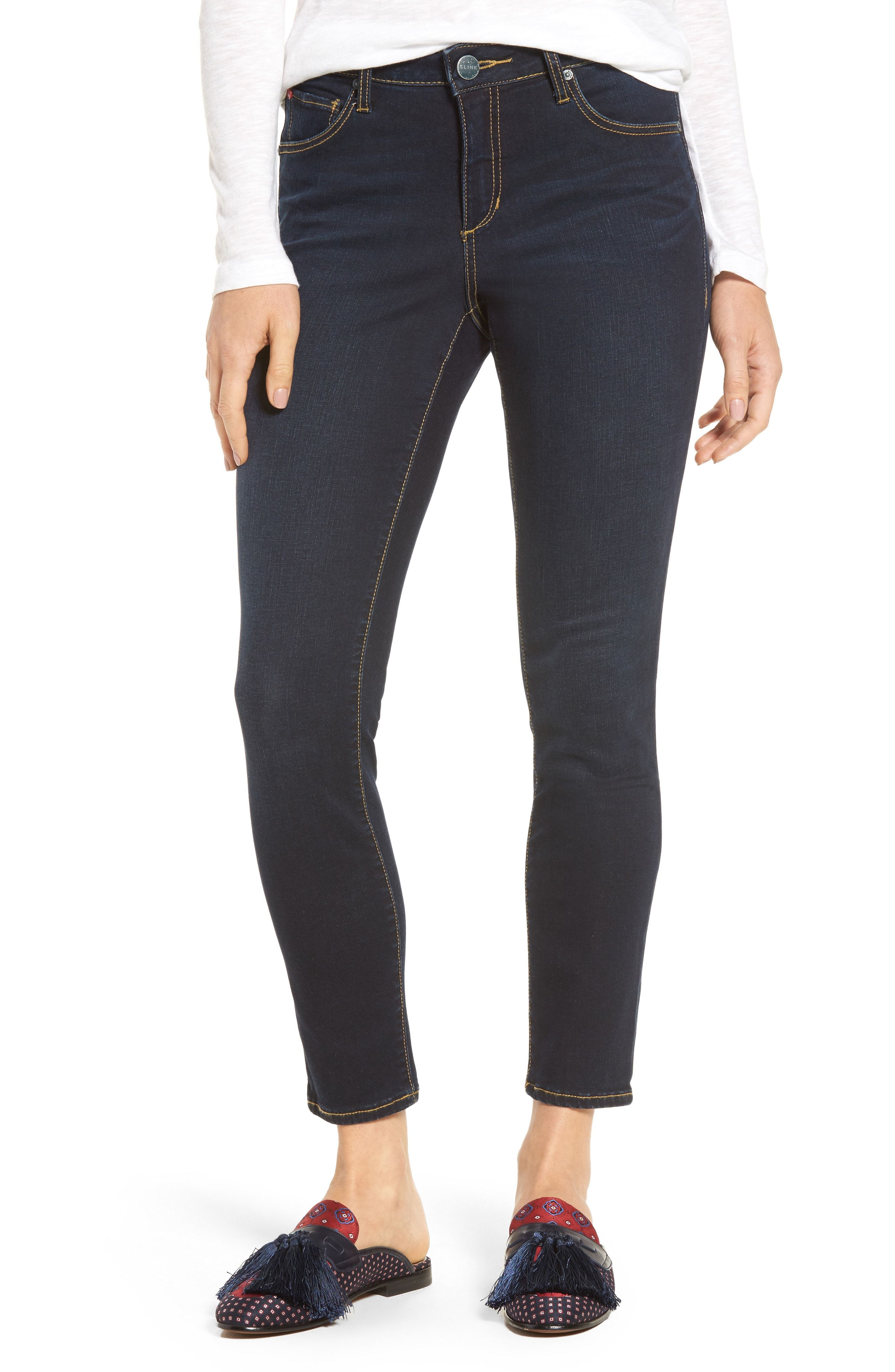 d92cf66bf1 SLINK Jeans Ankle Skinny Jeans available at #Nordstrom | Shopping ...