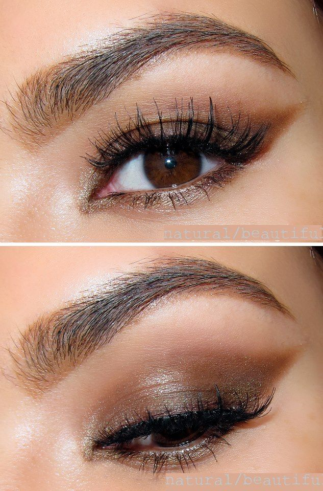 Pretty Bronze Brown Eye What You Need Primer Dark Brown