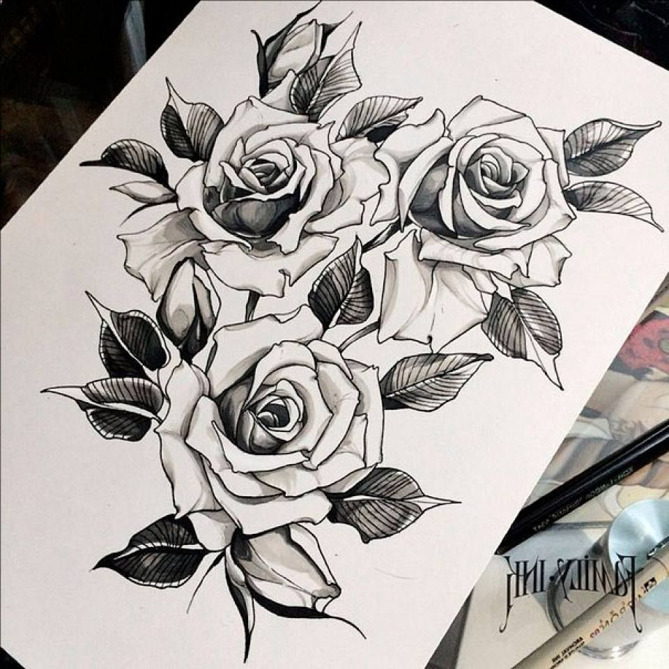 Tattoo Ideas With Roses: Pin By Nick Vradnyk On Tatoos