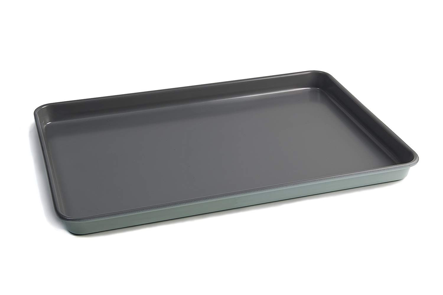 Jamie Oliver Baking Tray Nonstick Cookie Half Sheet Pan Professional Heavy Guage Carbon Steel Construction 15 X 10 In Tray Bakes Jamie Oliver Half Sheet Pan