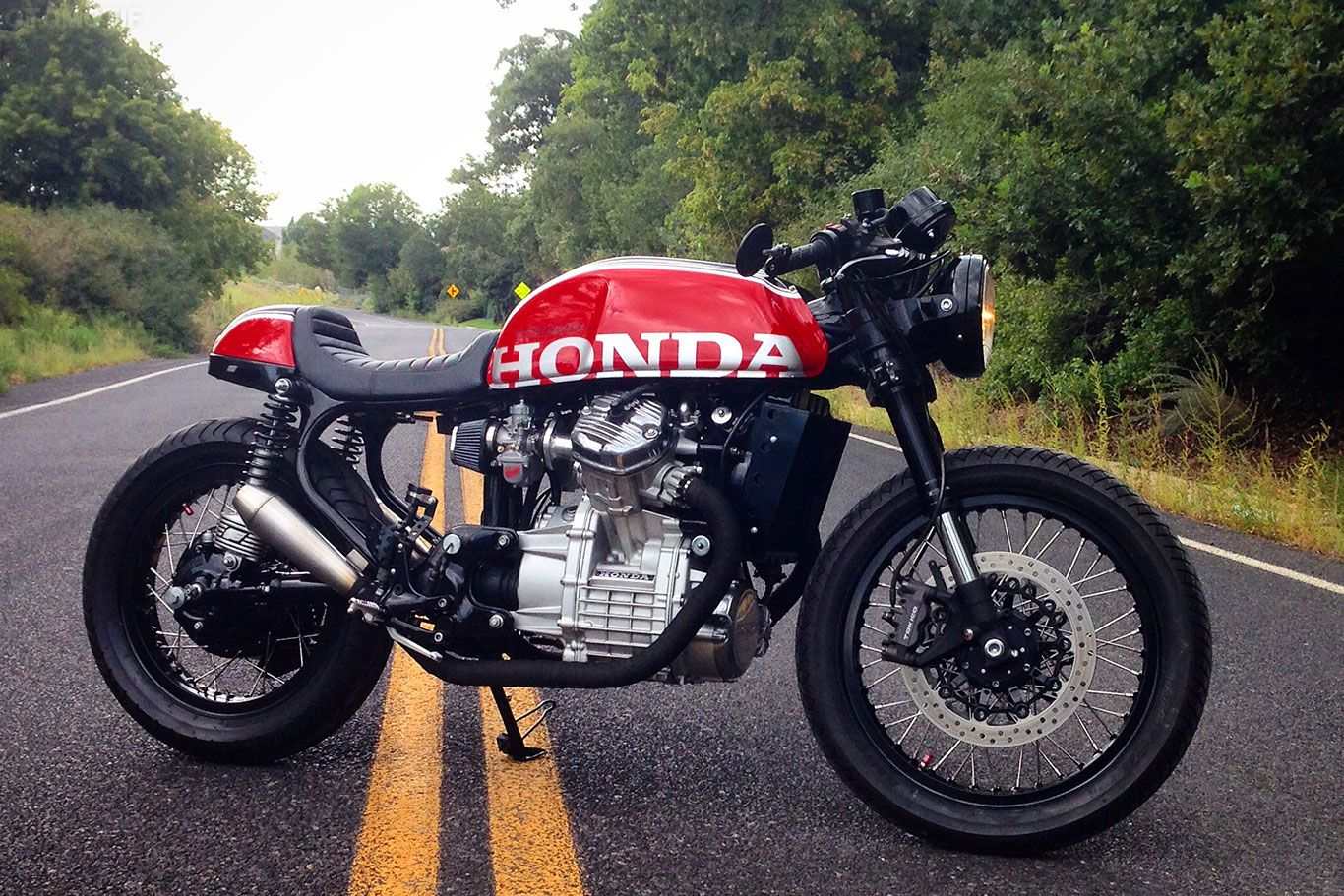 The Attitude Mikes Honda CX500 Cafe Racer OTOMOTIF USA
