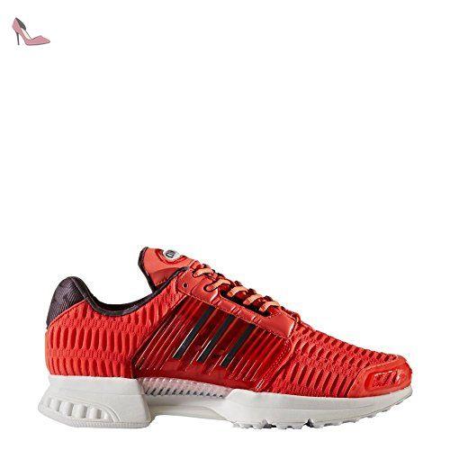 adidas Baskets pour Homme Noir - Multicolore - Noir/Rouge/Blanc, EU 40 2/3 (UK 7) EU