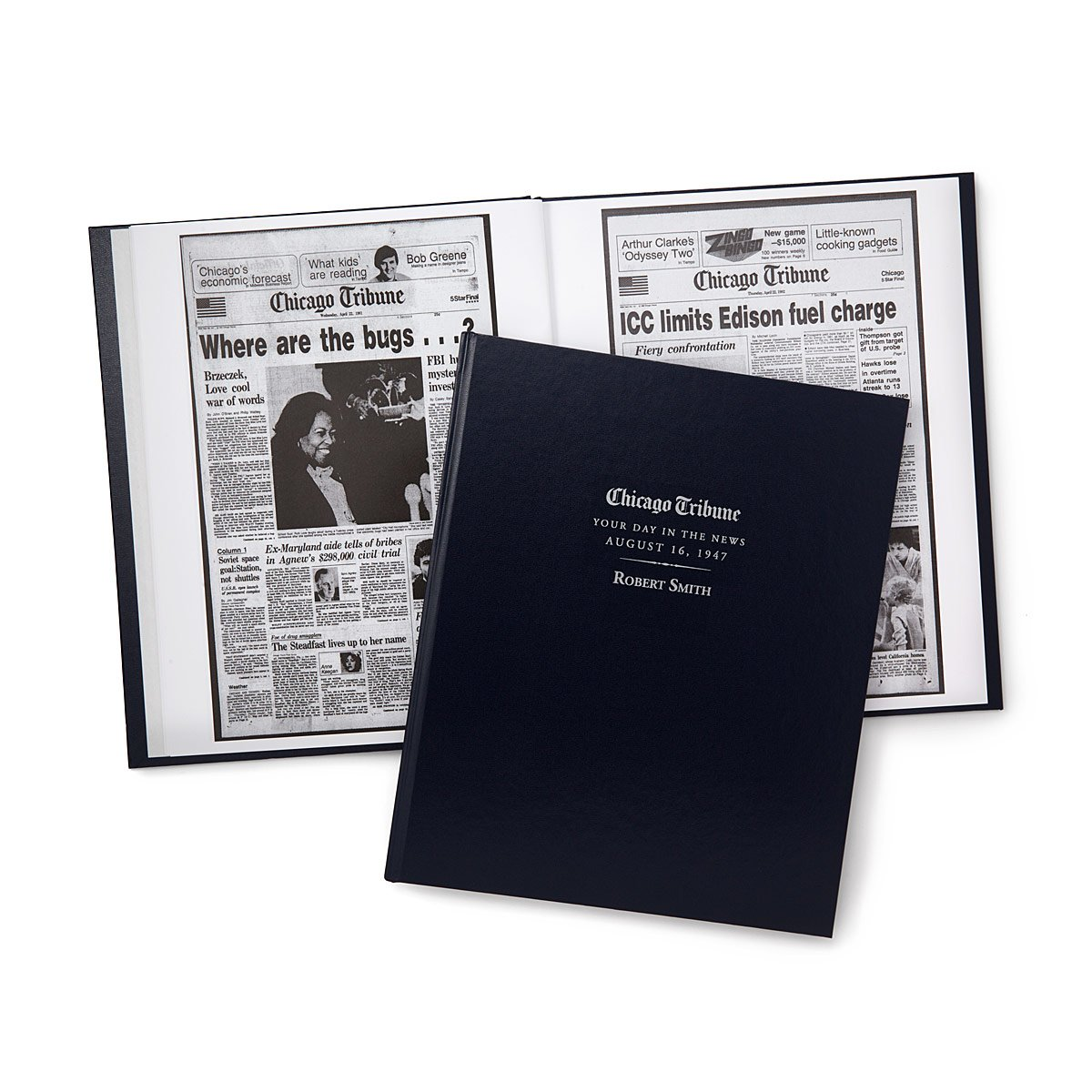 Chicago Tribune Custom Birthday Book