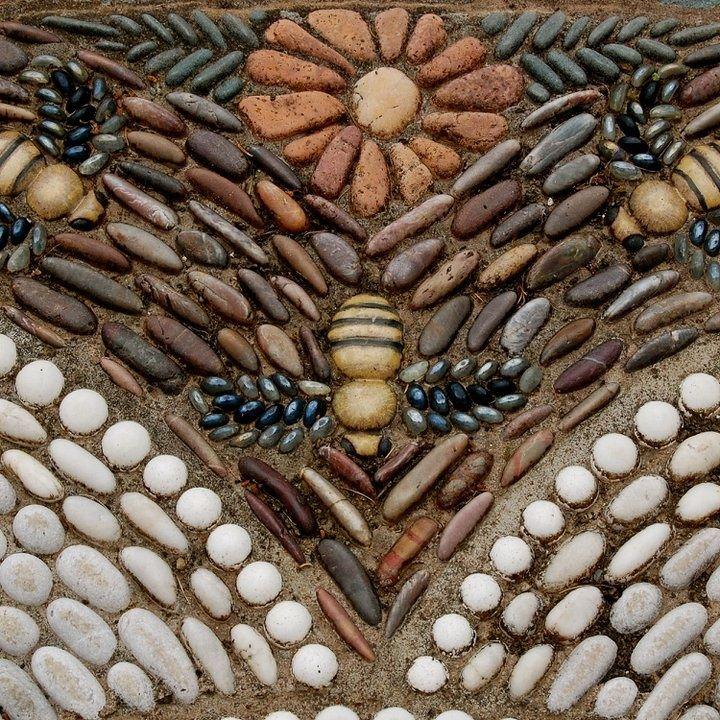 Mosaic galeria favoritos pinterest mosaicos for Mosaicos para jardin