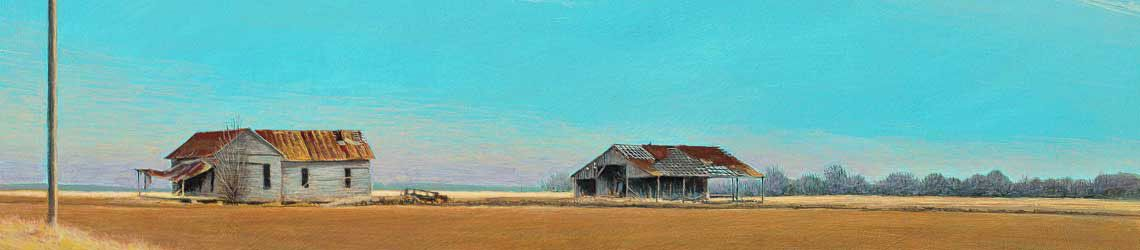 """Want to see more of Daniel's Arkansas Delta paintings? Check out this new video """"Painting the Arkansas Delta."""" It's a curated selection of some of his favorite and most appreciated delta paintings. Enjoy!"""