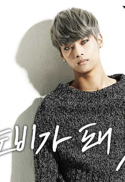 N ♡ #VIXX - 'On and On' - holy crap, those contacts! That hair! He is so gorgeous.