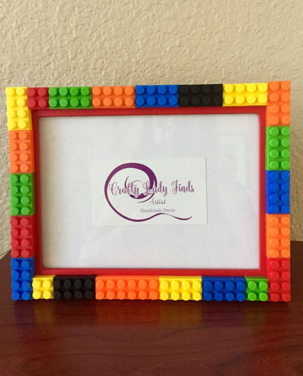 A personal favorite from my Etsy shop https://www.etsy.com/listing/489028331/lego-frames